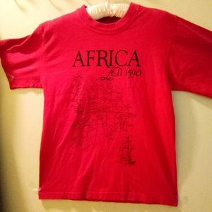 Graphic Tee First Light Africa 1590AD